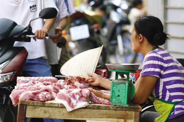 Lợn hơi đã tăng giá sau cuộc giải cứu.