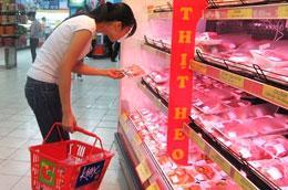 Thịt lợn hiện đang được bán ra ở mức cao kỷ lục từ trước tới nay.