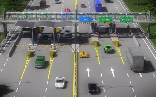 Liên danh Tasco - Vetc được Bộ Giao thông Vận tải chỉ định là nhà đầu tư thu phí tự động không dừng giai đoạn 1.