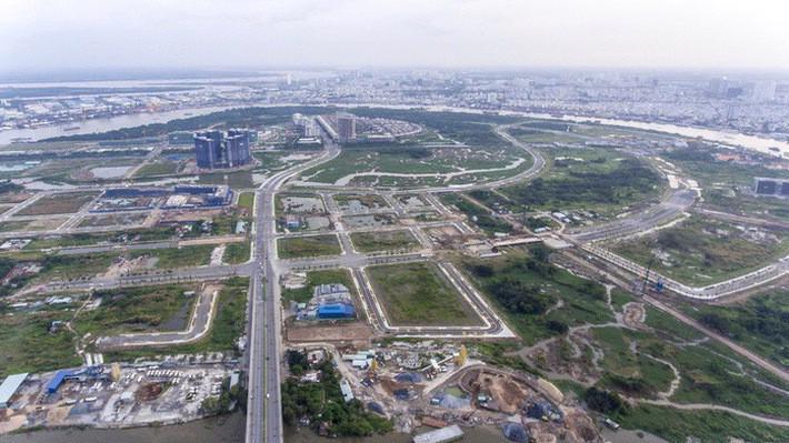 Dự án Khu độ thị mới Thủ Thiêm, nơi cử tri nêu nhiều kiến nghị với Quốc hội.