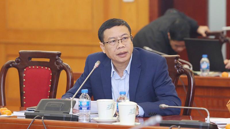 Tân Thứ trưởng Lê Xuân Định.