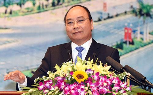 Thủ tướng Nguyễn Xuân Phúc yêu cầu các địa phương phải coi lợi ích của nhà đầu tư là lợi ích của tỉnh, của đất nước mình.<br>