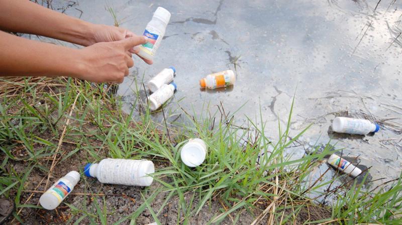Trung Quốc vẫn là thị trường xuất khẩu thuốc trừ sâu chính cho Việt Nam. Ảnh minh hoa,