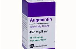 Thuốc kháng sinh Augmentin bị cho là nhiễm chất làm dẻo Diisodecyl phthalate (DIDP) và Diisononyl phthalate (DINP).