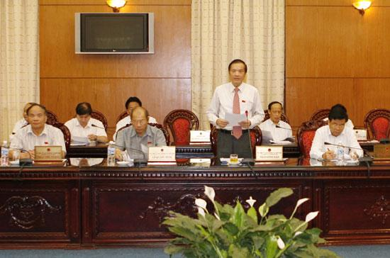 Ủy ban Thường vụ Quốc hội đã giám sát chuyên đề phòng chống tham nhũng vào cuối năm 2009.