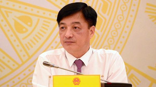 Thứ trưởng Bộ Công an Nguyễn Duy Ngọc trao đổi với báo chí chiều 5/11.