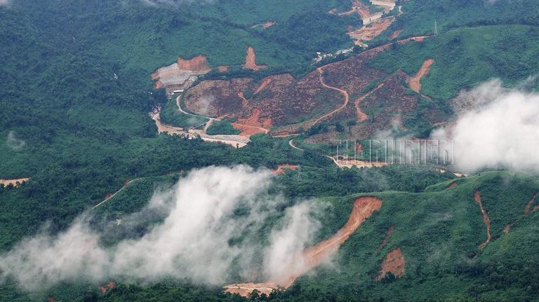 Thuỷ điện Rào Trăng 3 nơi xảy ra sự cố khiến 13 chiến sĩ mất mạng và 16 công nhân mất tích.