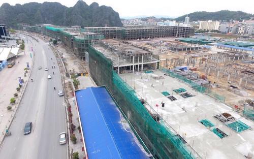 Tiến độ xây dựng dự án Mon Bay đến tháng 3/2017.<br>