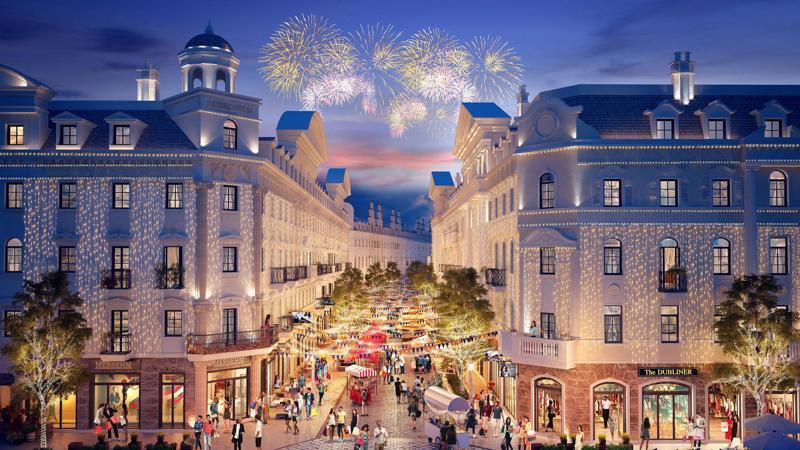 """Élyseé khi hoàn thiện được xây dựng trở thành """"kinh độ thời trang"""", """"tâm điểm lễ hội"""" dành cho du khách là các tín đồ mua sắm, du lịch giải trí."""