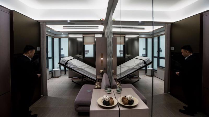 Một căn hộ siêu nhỏ tại Hồng Kông - Ảnh: Bloomberg