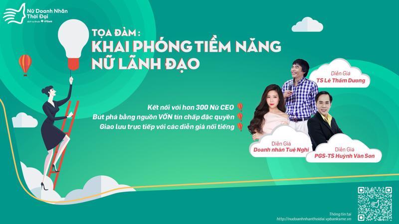 Tọa đàm sẽ được tổ chức tại Tp.HCM và Hà Nội lần lượt các ngày 1 và 8/6/2018.