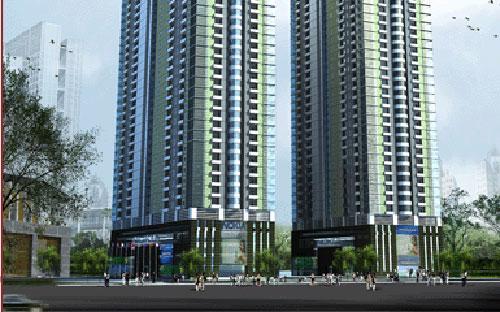 Phối cảnh dự án SDU 143 Trần Phú, Hà Đông, Hà Nội.<br>