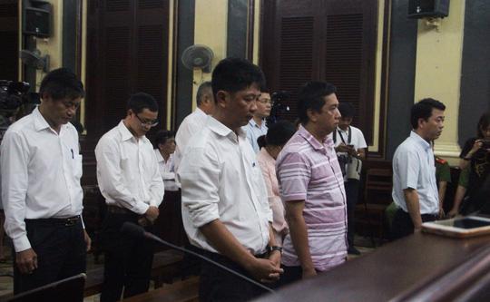Các bị cáo nguyên là lãnh đạo, nhân viên Công ty VN Pharma tại phiên tòa xét xử hôm 21- 25/8 vừa qua.<br>