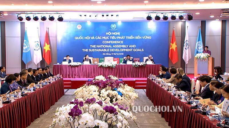 Hội nghị Quốc hội và các mục tiêu phát triển bền vững khai mạc sáng 17/12 tại Đà Nẵng.