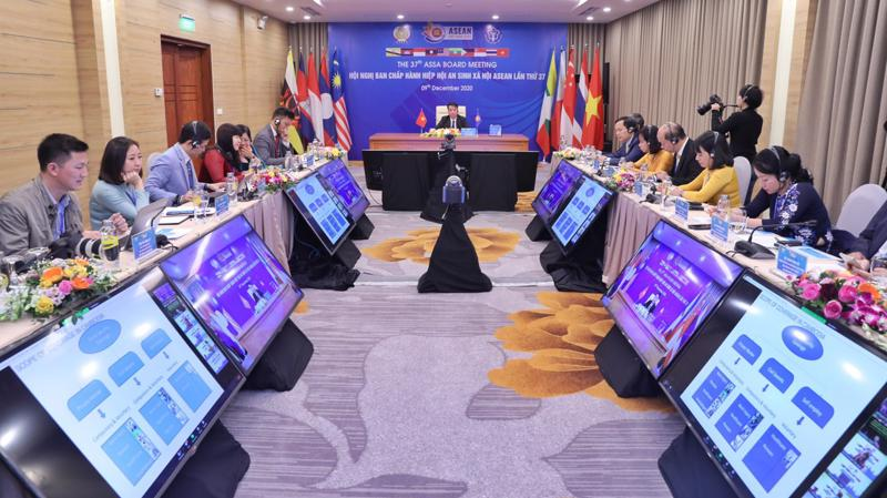 Đây là lần đầu tiên kể từ khi thành lập, Hiệp hội tổ chức Hội nghị Ban Chấp hành theo hình thức trực tuyến.