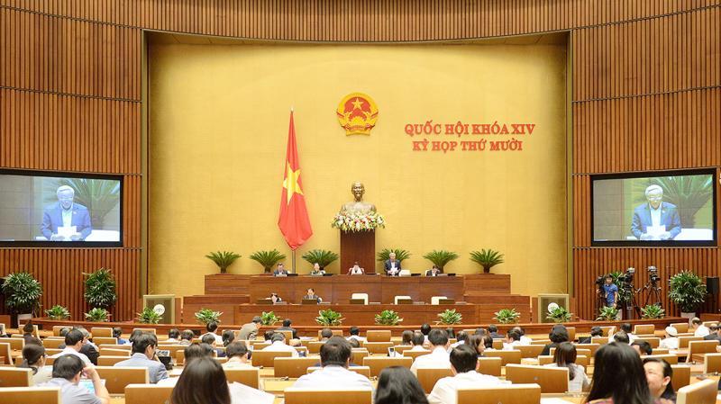 Toàn cảnh phiên họp Quốc hội chiều 13/11 - Ảnh: Quochoi.vn