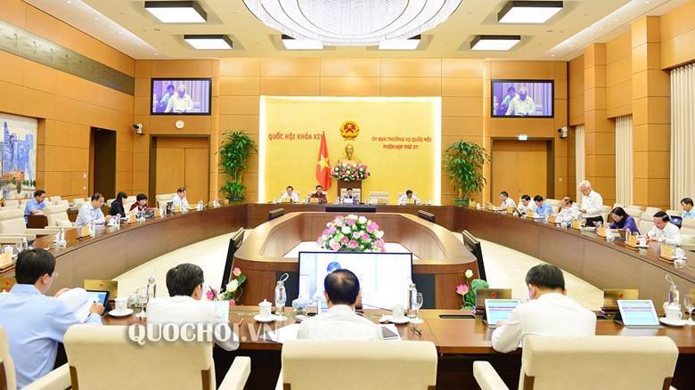 Uỷ ban Thường vụ Quốc hội cho ý kiến dự án Luật Thanh niên (sửa đổi)