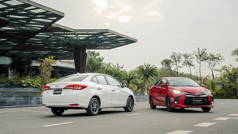 Lần đầu tiên mẫu xe Toyota Vios tại thị trường Việt Nam có phiên bản phong cách thể thao.