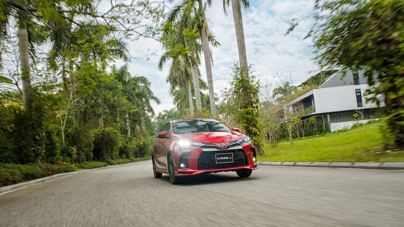 Phiên bản nâng cấp mới Toyota Vios GR-S vừa ra mắt thị trường Việt Nam ngày 23/2/2021.