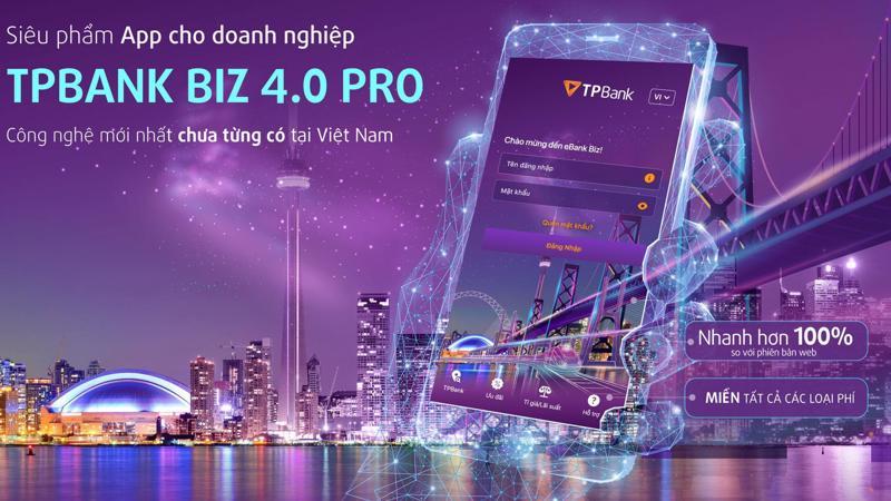TPBank eBank Biz cho phép doanh nghiệp dễ dàng trải nghiệm xuyên suốt và đồng nhất trên mọi thiết bị 24/7.