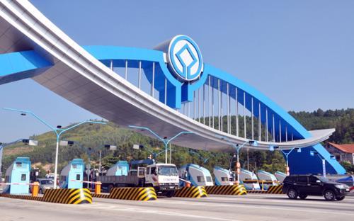 Trạm thu phí Đại Yên tại thành phố Hạ Long, Quảng Ninh.<br>