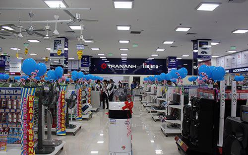 Trần Anh đang là một trong hai doanh nghiệp điện máy sở hữu điểm bán nhiều nhất phía Bắc.<br>