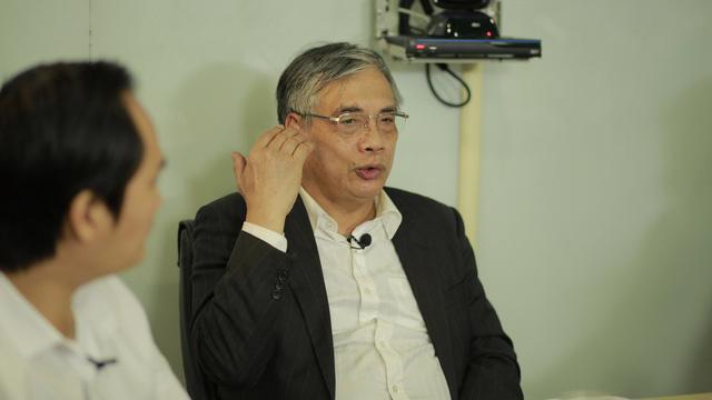 TS. Trần Đình Thiên, thành viên Tổ tư vấn kinh tế của Thủ tướng, nguyên Viện trưởng Viện Kinh tế Việt Nam.