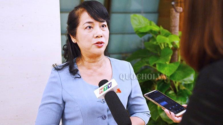 Bà Trần Kim Yến, Bí thư Quận uỷ Quận 1 (Tp.HCM)