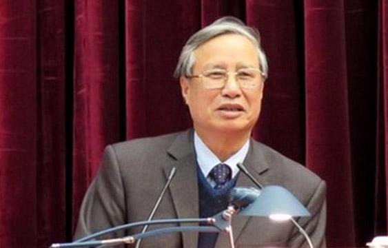 Ông Trần Quốc Vượng, Ủy viên Bộ Chính trị, Bí thư Trung ương Đảng, Chủ nhiệm Ủy ban Kiểm tra Trung ương.
