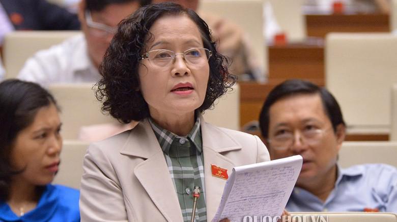 Đại biểu Trần Thị Quốc Khánh đề nghị tiếp tục hoàn thiện dự án Luật Hành chính công.