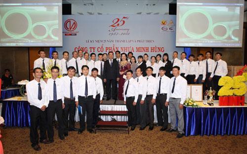 Lễ kỷ niệm 25 năm thành lập và phát triển công ty.