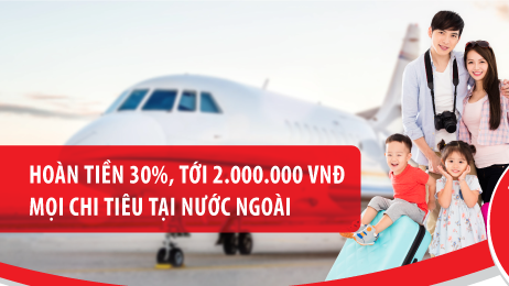Thẻ tín dụng du lịch Maritime Bank Visa là dòng thẻ có mức hoàn tiền cao nhất thị trường hiện nay.