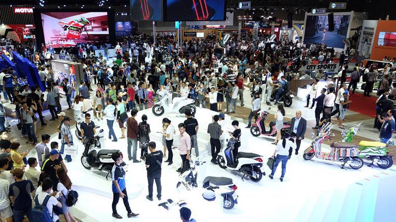 Ước tính, trong năm 2018, thị trường xe máy Việt sẽ tiêu thụ khoảng 3,3 triệu chiếc.