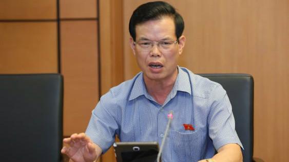 Bi thư Hà Giang Triệu Tài Vinh tại phiên họp tổ.