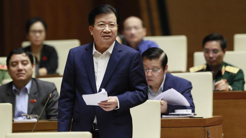 Phó Thủ tướng Trịnh Đình Dũng - Ảnh: Quochoi.vn