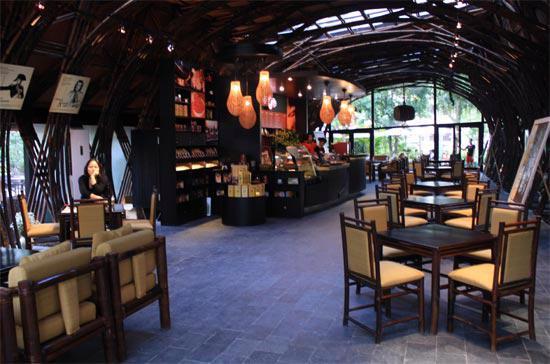 Một quán cà phê Trung Nguyên.