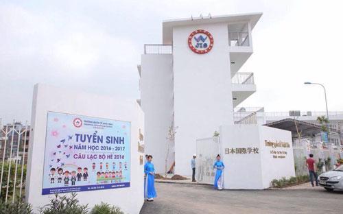 Trường Quốc tế Nhật Bản nằm tại 36 Tố Hữu (Lê Văn Lương kéo dài).<br>