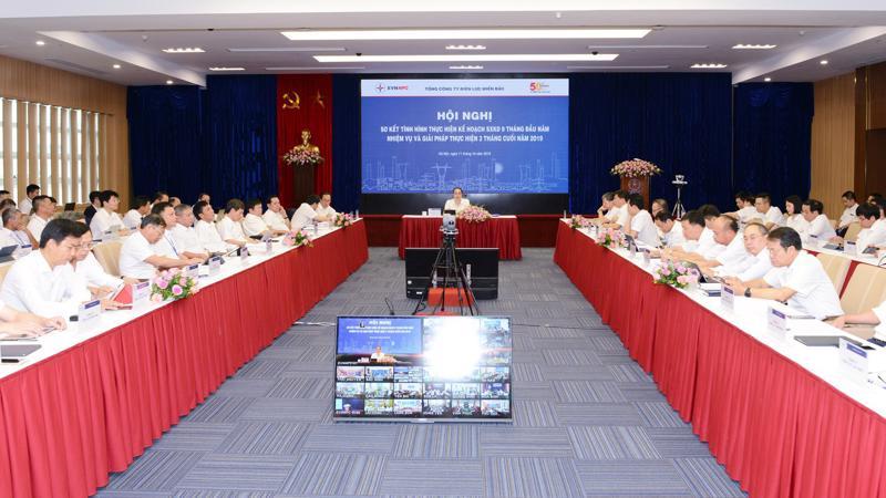 Toàn cảnh Hội nghị sơ kết tình hình thực hiện kế hoạch 9 tháng đầu năm và nhiệm vụ, giải pháp thực hiện 3 tháng cuối năm 2019.