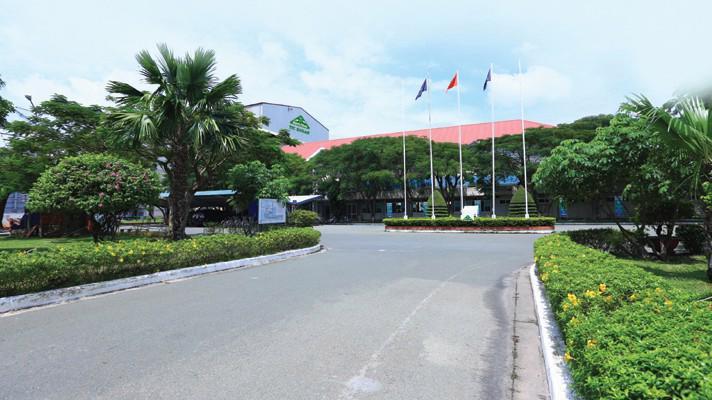 Trụ sở của công ty Thành Thành Công - Biên Hòa.