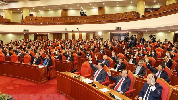 Trung ương sẽ thảo luận và bỏ phiếu biểu quyết giới thiệu nhân sự tham gia Bộ Chính trị, Ban Bí thư khóa XIII.