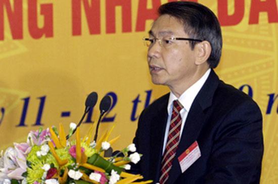 Trưởng ban Công tác đại biểu Phạm Minh Tuyên.