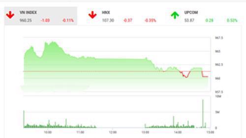 Theo quan điểm của BSC, thị trường giảm điểm ngược chiều thị trường khu vực do tâm lý nhiều nhà đầu tư chốt lời cổ phiếu nhóm VN30.