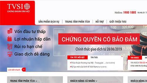 Trang web của TVSI.