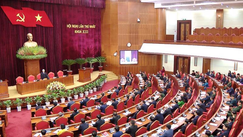 Hội nghị lần thứ nhất Ban Chấp hành Trung ương Đảng khoá XIII