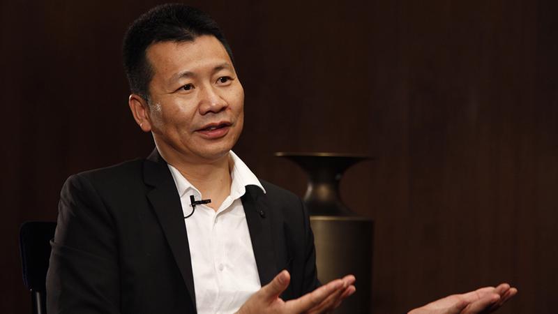 Zhou Chengjian, người sáng lập Meters/bonwe - Ảnh: SCMP.