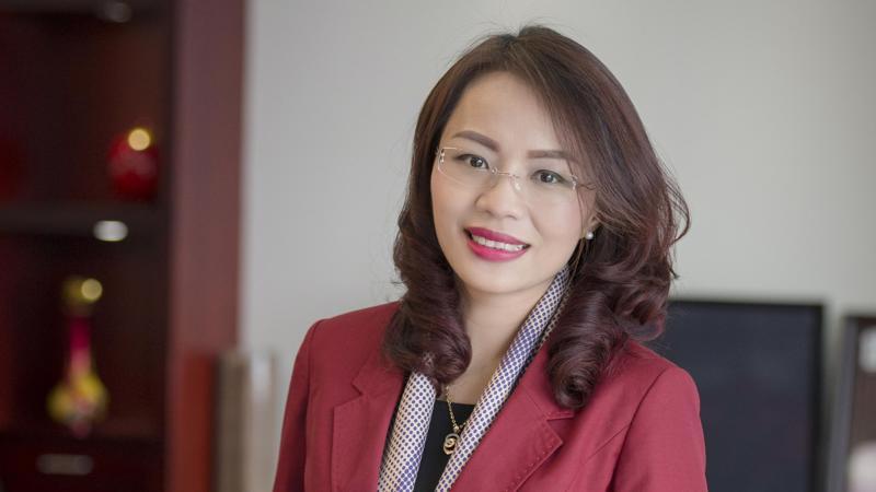 Tổng giám đốc Tập đoàn FLC, bà Hương Trần Kiều Dung.