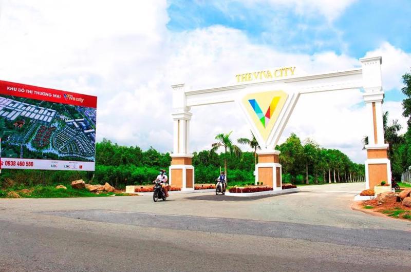 Khu đô thị thương mại The Viva City.