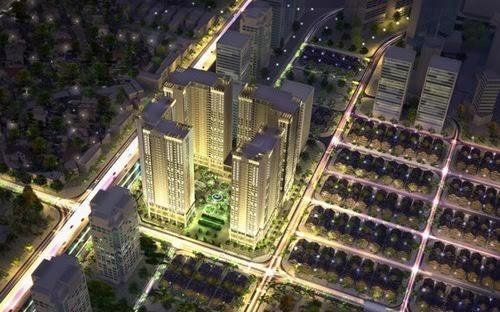 Phối cảnh dự án Eco Green City.<br>