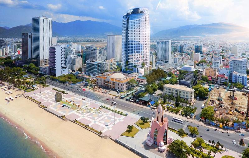 Phối cảnh dự án Panorama Nha Trang do Công ty Cổ phần xây dựng Vịnh Nha Trang làm chủ đầu tư.