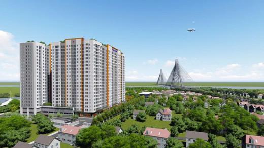 Samsora Riverside sở hữu vị trí đắc địa khi nằm tại cửa ngõ khu Đông thành phố, ngay điểm dừng của tuyến Metro số 1.
